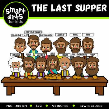 Last Supper Clip Art