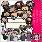 Last Supper clip art - Bible- by Melonheadz