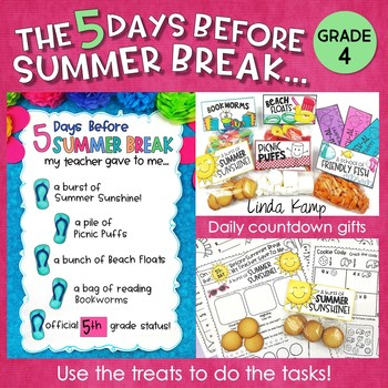 Last Week of School Activities & End of the Year Countdown Gifts – Fourth Grade