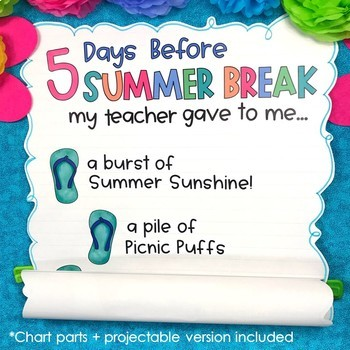 Last Week of School Activities & End of the Year Countdown Gifts – Third Grade