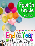 Last Week of School Activities for Fourth Grade (4th)