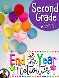 Last Week of School Activities for Second Grade (2nd)