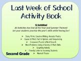 Last Week of School Activity Packet- Fun & Educational Act