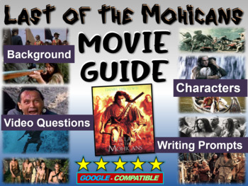 Last of the Mohicans - video guide, questions, writing pro