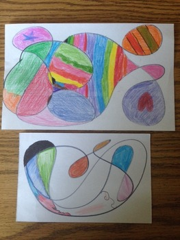 Last or First Day of School Abstract Art Activity