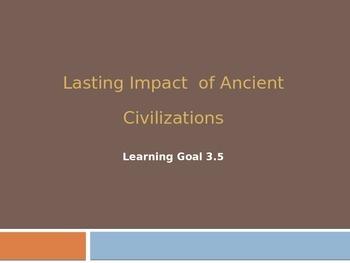 Lasting Impact of Ancient Civilizations