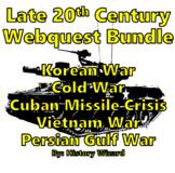 Late 20th Century Webquest Bundle (Wars and Major Events)