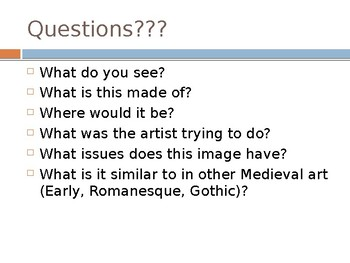 Late Gothic Art Lecture PPT (AP Art History)