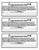 Late Homework Allowance Pass