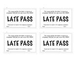 Late Homework Pass [Incentive]