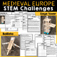 Late Middle Ages - Medieval Europe STEM Challenges