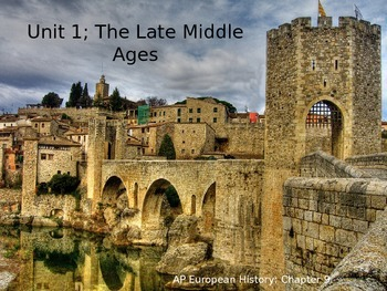 Late Middle Ages Powerpoint AP European History