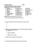 Late Middle Ages Student Study Guide