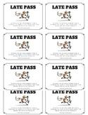 Late Passes