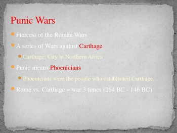 Late Republic, Punic Wars, and Hannibal