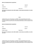 Late Work Submission and Review Request Form