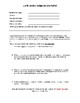 Late assignment student submission form/slip- Stop late assingments