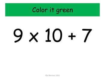 Later Alligator Multiplication Practice - Watch, Think, Color! CCSS.3.OA.C.7