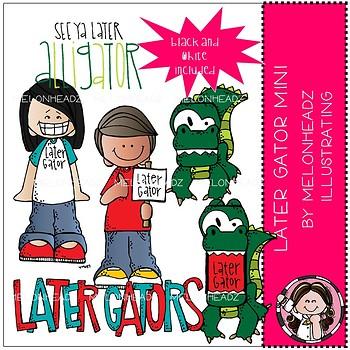 Later Gators clip art - Mini - by Melonheadz