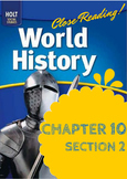 """Middle Ages Holt World History Ch. 10 Sec. 2 """"The Crusades"""""""