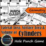 Lateral Area, Surface Area & Volume of Cylinders Hole Punc