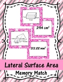 Lateral Surface Area Memory Match