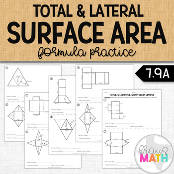 Lateral Surface Area: Guided Practice