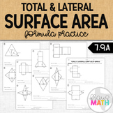 Total & Lateral Surface Area of Nets: Formula Practice (7.9D)