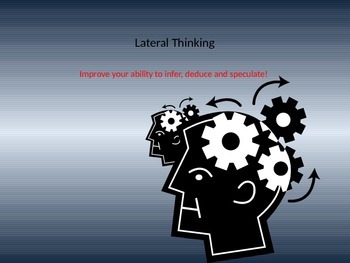 Lateral Thinking reading skills