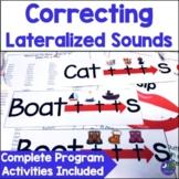 Articulation Lateral Lisp Complete Program {ch, dg, sh, s, z, tr, dr, s blends}