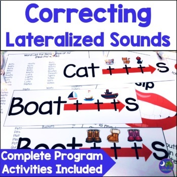 Articulation Lateral Lisp Complete Program {ch, dg, sh, s, z, tr, dr, s blends}