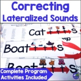 Speech Therapy Lateral Lisp Complete Program ch, dg, sh, s, z, tr, dr, s blends