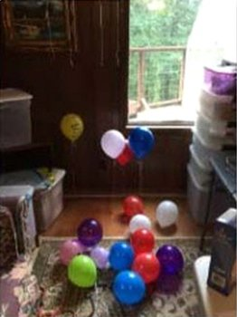 Latex Balloon Chemical Engineering Experiment