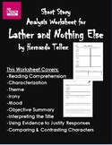 """""""Lather and Nothing Else"""" by Hernando Tellez -Short Story"""