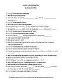 Lather and Nothing Else by Hernando Tellez Complete Guided Reading Worksheet