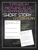 """Lather and Nothing Else"" by Hernando Tellez short story lesson plan"