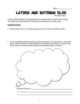 lather and nothing else answer key
