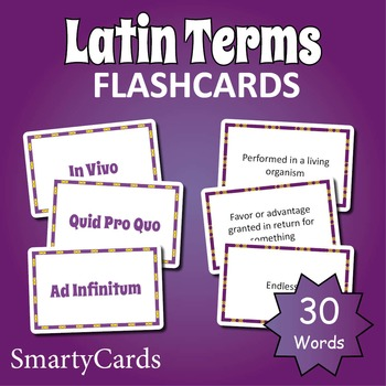 Latin Words Flashcards