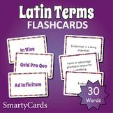 Latin Words Flashcards