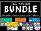 Latin America BUNDLE: Geography, Environmental Issues, Aztec & Inca, etc.
