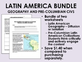 Latin America Bundle - Geography and Pre-Columbian Civilizations - Global/World