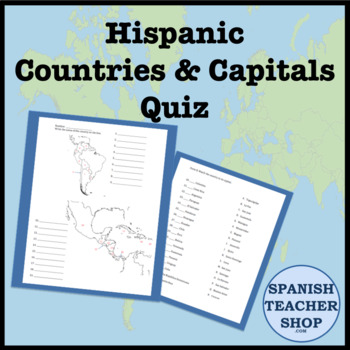 Map Of Latin America Quiz With Capitals.Latin America Central And South America Country Capital Quiz