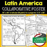 Latin America Collaborative Poster, Latin America MAPPING