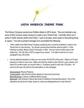 Latin America Disney Project