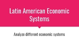 Latin America Economic Systems Power Point SS6E1abc