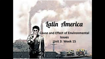 Latin America Environmental Issues Slideshow