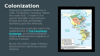 Latin America: From Colonization to Revolution