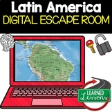 Latin America Geography Digital Escape Room, Breakout Room