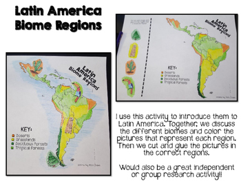 Latin America Biome and Geography Hunt