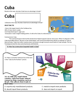 Latin America Geography Packet